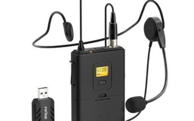 FIFINE K031B: El mejor Micrófono de solapa inalámbrico